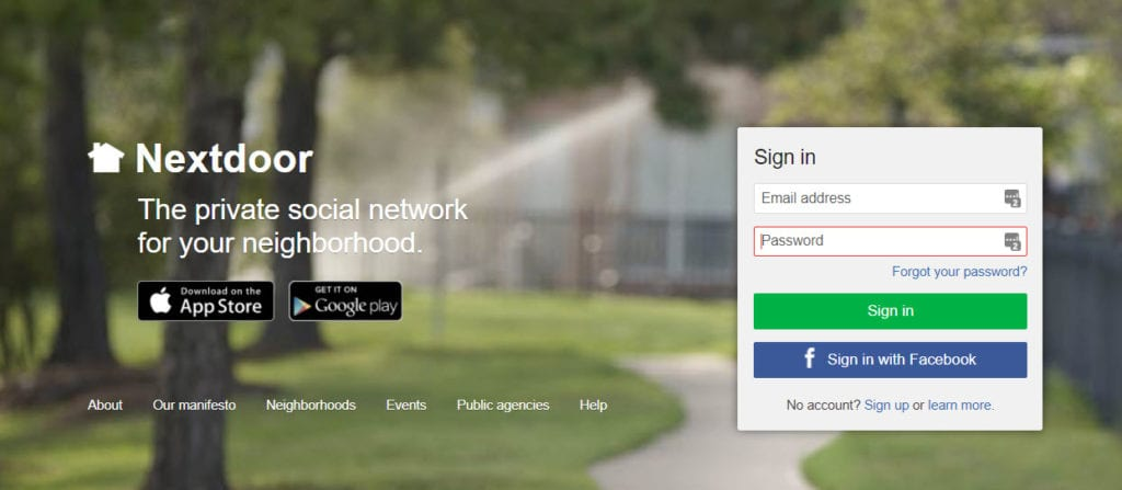 Nextdoor App for your HOA Communications